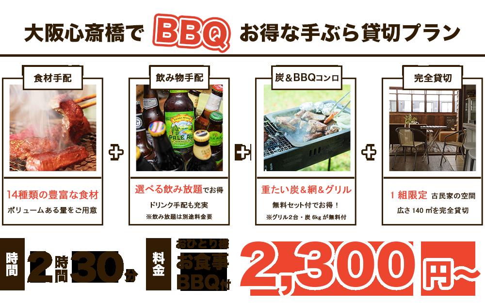 大阪でバーベキューレンタル!お得な手ぶら貸切りBBQレンタルプランはafuへ