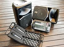 BBQレンタルでおすすめのライブセット・音響セットオプション