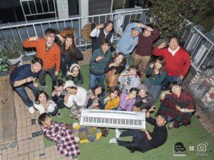 屋上の音楽会|大阪の古民家レンタルスペース+BBQキッチンafu