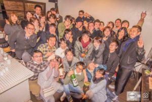 日本酒Freestyle「にごり酒縛りの回」参加者集合写真